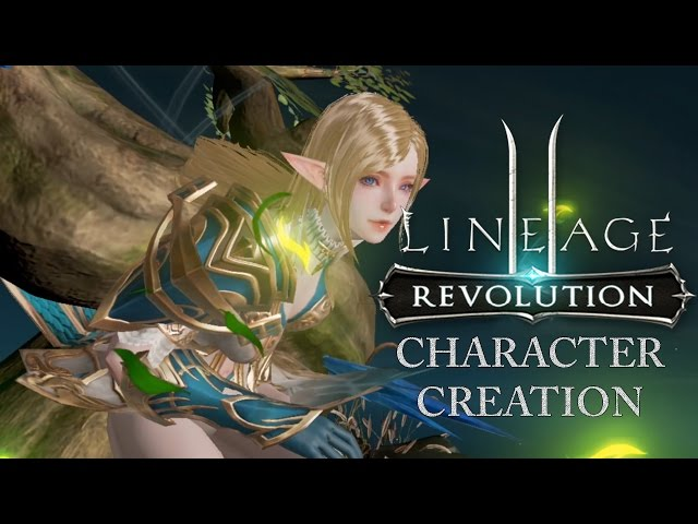 Lineage 2: Revolution - Unreal Engine 4 Version - Customization (Mobile)