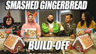 SMASHED GINGERBREAD BUILD-OFF!