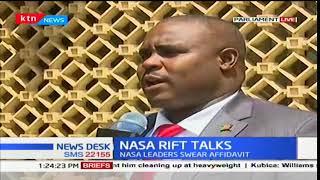 NASA leaders to swear affidavits towards the swearing in of Raila Odinga as the people's president