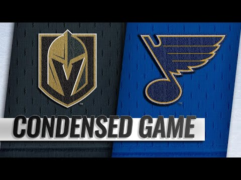 d8f852885 03 25 19 Condensed Game  Golden Knights   Blues