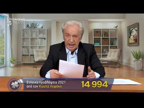 Τοξότης 2021 Ετήσιες Προβλέψεις Κώστα Λεφάκη σε βίντεο