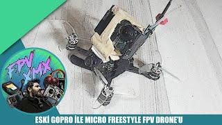 ESKİ GOPRO 'YU SOYUP DRONE 'A TAKTIM // MINI HD FREESTYLE DRONE ( NAKED GOPRO )