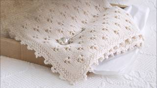 How To Knit The Cloverleaf Eyelet Stitch