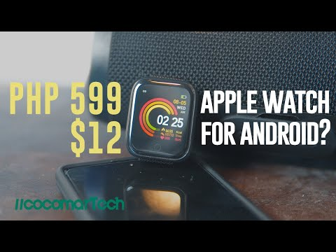 Affordable Smartwatch for Android and iOS Unboxing and First Impressions | Apple Watch Clone?
