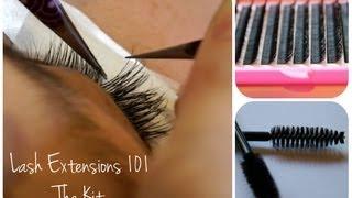 Eyelash Extensions 101 - The Kit