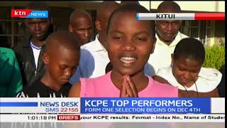 Schools celebrate KCPE 2017 performance across the country