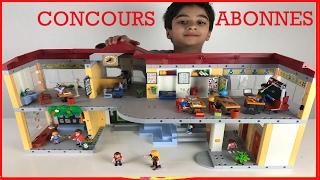 CONCOURS ABONNÉS - JEU DE CONSTRUCTION PLAYMOBIL 4324 ECOLE - StudioSurpriseToys