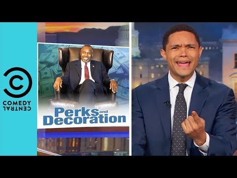 What's Ben Carson Been Buying With Taxpayer Money? | The Daily Show With Trevor Noah