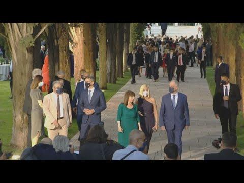 Δεξίωση για την 47η επέτειο της Αποκατάστασης της Δημοκρατίας στο Προεδρικό Μέγαρο