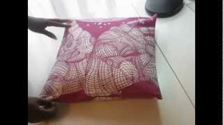 The Worlds Easiest Cushion Cover!
