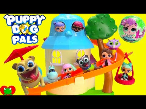 Puppy Dog Pals Make Lol Surprise Pets At Doghouse Playset Game W