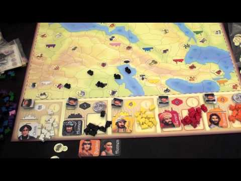 Dice Tower Reviews: Samarkand: Routes to Riches