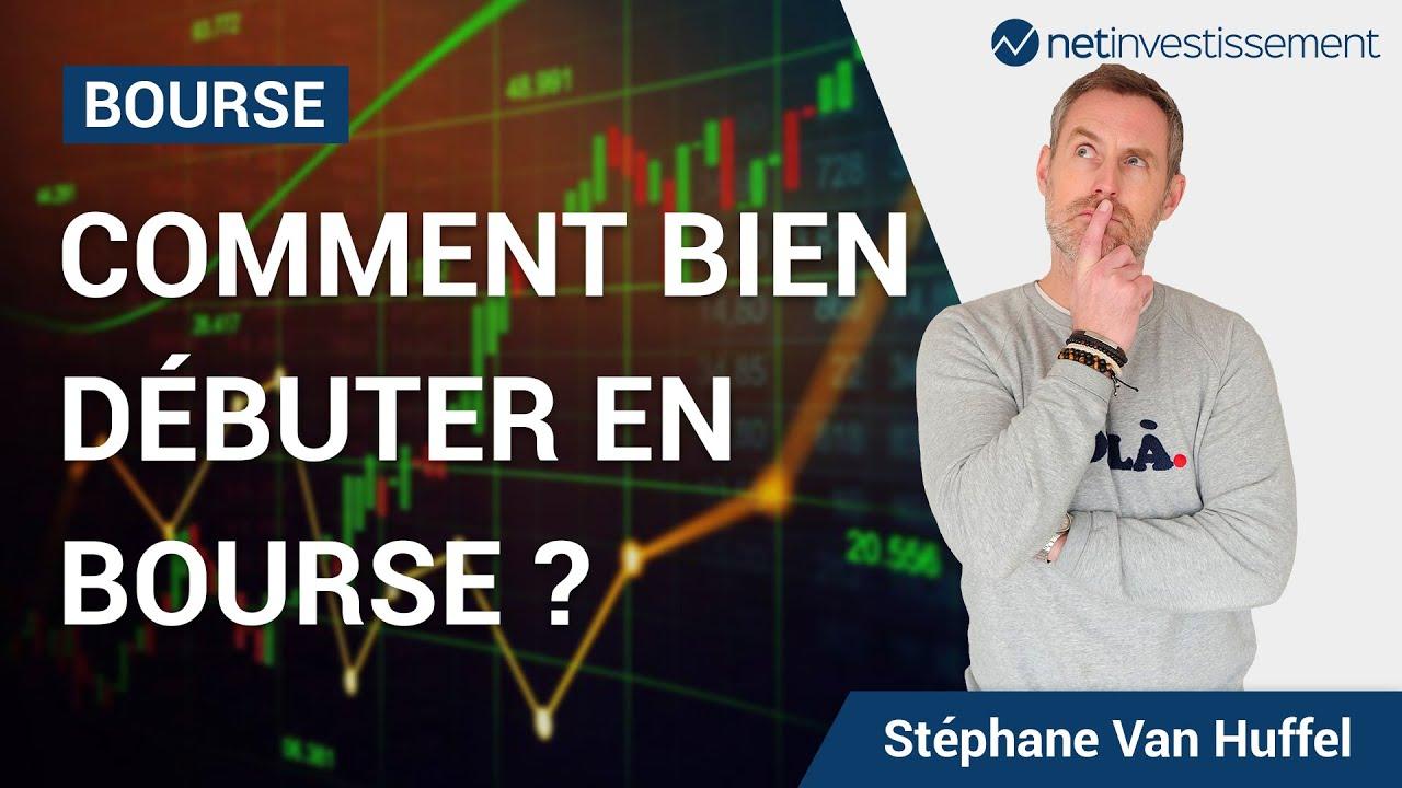 Comment bien débuter en bourse ? Gestion actif ou passive ?   Netinvestissement
