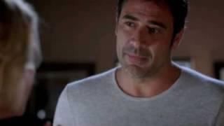 Izzie and Denny Kiss on ABC's Grey's Anatomy