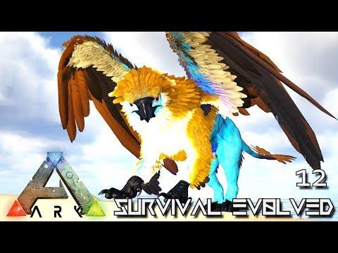 ARK: SURVIVAL EVOLVED   LEGENDARY GRIFFIN U0026 UNICORN E12 !!! ( PUGNACIA  PARADOS