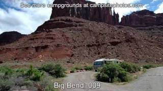 Big Bend Campground, Moab, Utah Campsite Photos