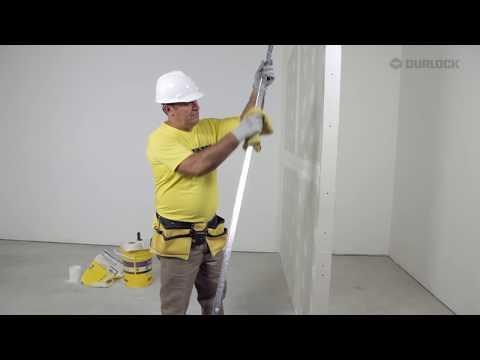 Construcción en Seco: Terminación y colocación de cantoneras en paredes Durlock®
