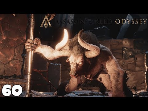 Combat Contre Le MINOTAURE - Assassin's Creed ODYSSEY 60 - royleviking [FR PC]