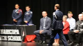 Maricopa High School Air Force Junior ROTC Awards