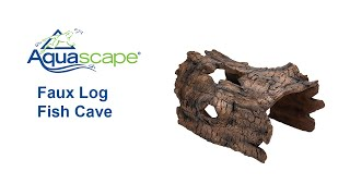 Faux Log Fish Cave: Keep Fish Safe!