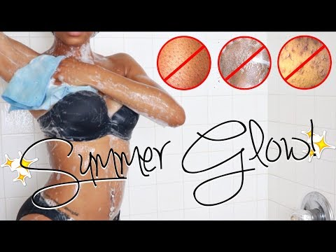 MY SHOWER ROUTINE | Get Rid Of Strawberry Skin, Razor Bumps & Ingrown Hair for Smooth Skin!