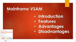 Mainframe VSAM Introduction, Features, Advantages, Disadvantages IBM