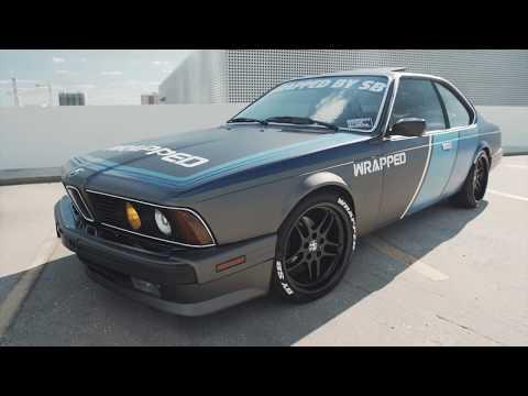 BMW 635CSi | WrappedBySB x SceneAmatiX | 'Lowla'