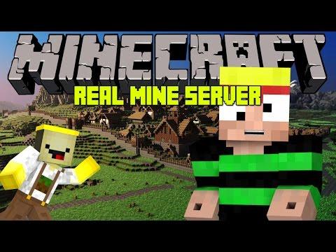 ♣ Minecraft   RealMine Server   #1