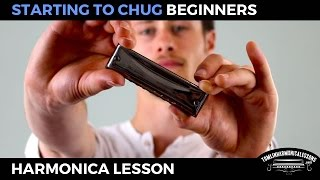 Starting to Chug - Beginner Blues C Harmonica Lesson + free harp tab