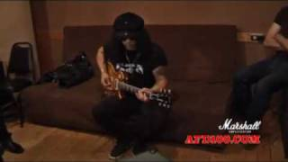 Slash Army - Marshall AFD100   Nightrain / Sweet Child O' Mine