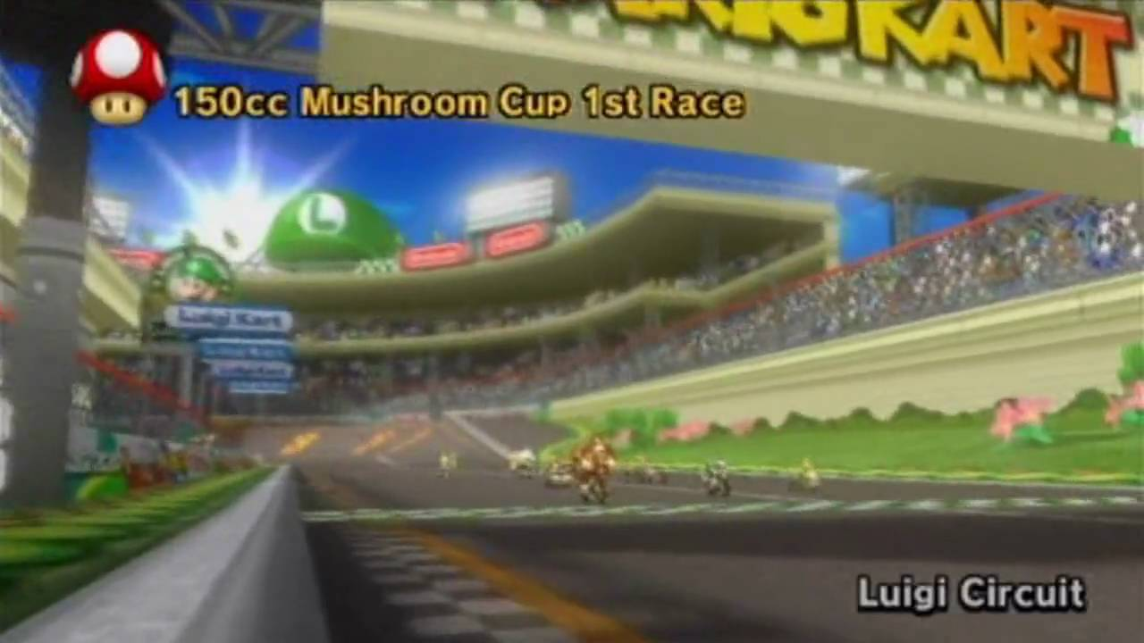 Download Youtube To Mp3 Mario Kart Wii Mushroom Cup 150cc Part 1 Luigi Circuit