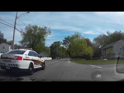 Speeding motorist passes a guy in a school zone. Ends about how you'd expect