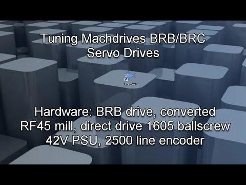 Servo Drive w// Glass Scales Feedback 20-150V 20A Machdrives CNC Holy Grail?