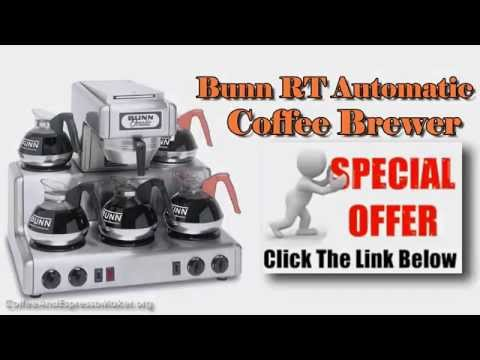Bunn Commercial Coffee Maker- BUNN RT Automatic Coffee Brewer