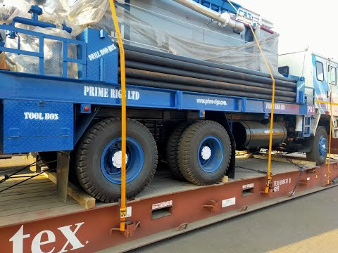 DTH 300 Truck Mounted Hydraulic Water Well Drilling Rig