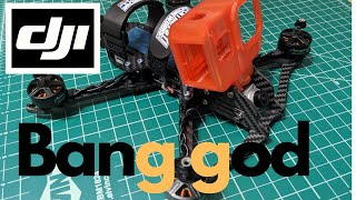 The Easiest FPV Drone Build Ever! DJI On The BangGOD