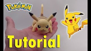 How To Make Pikachu Cold Porcelain Tutorial / Polymer Clay / Como Hacer A Pikachu En Porcelana Fría
