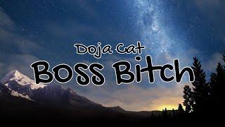 """Doja Cat - Boss Bitch (Lyrics) """"I'm a bitch, I'm a boss"""""""