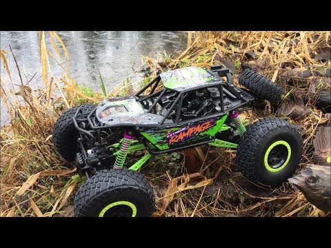 MORE RC CAR ADVENTURES!! Going Through Water And Beaver Dam! (FALLS IN WATER)