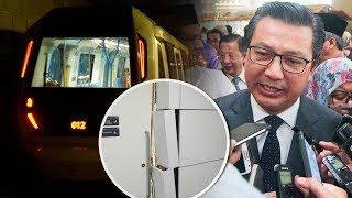 Stop vandalising the MRT, pleads Transport Minister