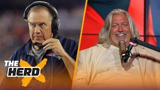 Rob Ryan talks Rex Ryan, players kneeling, Dallas Cowboys, the Raiders and Bill Belichick   THE HERD