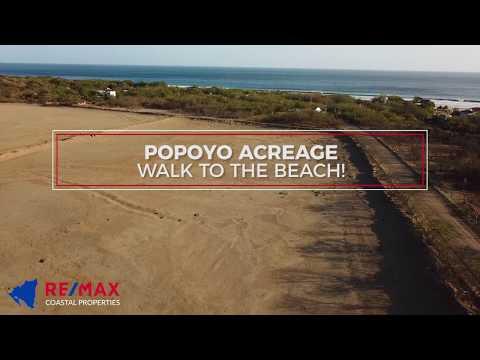 Popoyo Acreage - Walk to Beach!