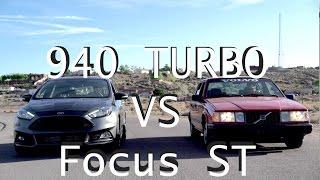 Volvo 940 Turbo Vs Ford Focus ST