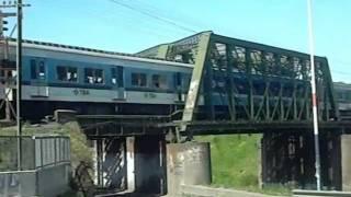 preview picture of video 'Toshiba por puente rio Reconquista 2 (31-10-2011)'