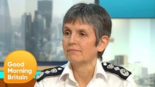 Commissioner Cressida Dick Celebrates 100 Years of Women in Policing | Good Morning Britain