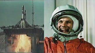 Yuri Gagarin - the first human in space