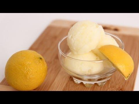 Homemade Lemon Sorbet Recipe – Laura Vitale – Laura in the Kitchen Episode 612