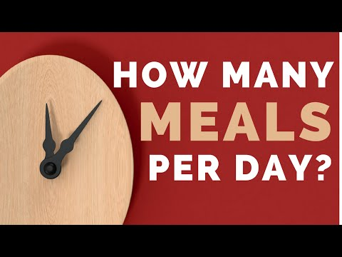 How Many Meals Should You Eat Per Day?