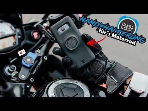 Handyhalterung fürs Motorrad & ideal für Motovlogger   Webon_one - Quad lock im Test
