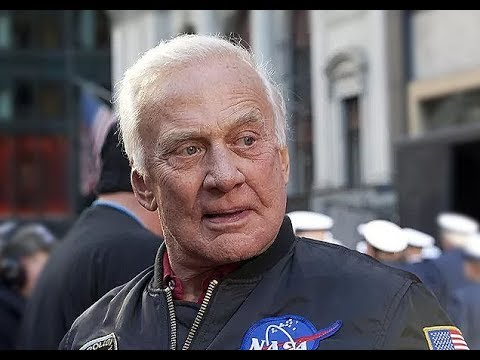 "In Honor of the Apollo 11 Landing 50 years ago today, I remixed Buzz Aldrin punching a conspiracy nut with Phil Collins' ""In the Air Tonight"""